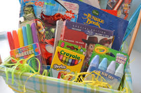 pre made easter baskets re post non candy easter basket ideas my healthy happy home