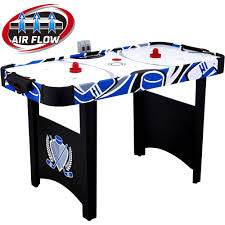 Table Top Hockey Game Hathaway Midtown 6 Foot Air Hockey Family Game Table With