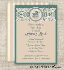 vintage style baby shower invitations theruntime