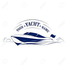 speed boat yacht icon royalty free cliparts vectors and stock