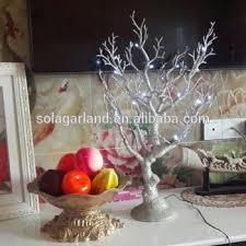Tree Centerpiece 65cm Silver Gold Artificial Plastic Wedding Tree Centerpiece For