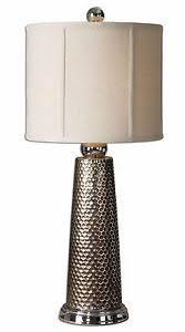 nenana metal buffet table lamp silver nickel details 28