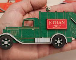 garbage truck decor etsy