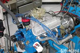 1965 mustang 289 horsepower 1965 hi po engine vs shelby 289 block mustang monthly