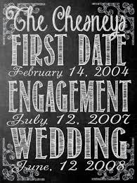 wedding chalkboard sayings fully customizable chalkboard wedding engagement date sign