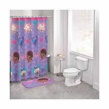 Walmart Kids Bathroom Disney Doc Mcstuffins 14 Piece Bathroom Set Shower Curtain 12
