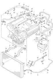 2001 audi audi a8 s8 quattro mexico market engine coolant cooling