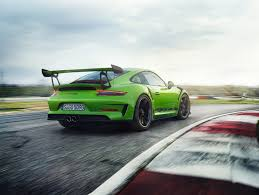 2018 blue porsche 911 gt3 awesome 500 hp engine sound and track 2019 porsche 911 gt3 rs starts at 188 550 automobile magazine