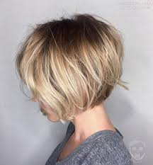 short stacked haircuts for fine hair that show front and back bob chinlength stacked http haircut haydai com chin length