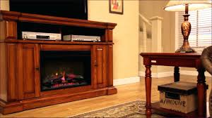 tv stand style selections 66 in w 5120 btu sienna wood and metal
