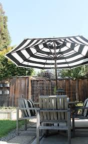 Striped Patio Umbrella Striped Patio Umbrella At Home And Interior Design Ideas