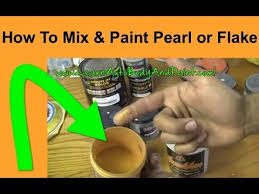 how to paint with pearls u0026 flakes what is pearl paint painting