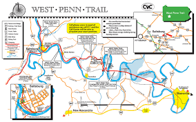 Map Of Ohio River by Westmoreland Heritage Trail U0026 West Penn Trail U2014 Delmont Pa To