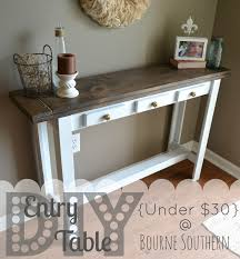 Entryway Console Table Fall Decor For Entry Console Table Bm Weathersfield Moss From