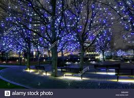 of gabriel s wharf southbank with blue lights
