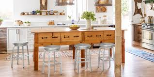 islands for kitchens with stools 50 best kitchen island ideas stylish designs for kitchen islands