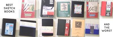 12 best and worst sketchbooks u2013 home