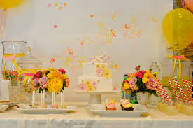 yellow baby shower ideas yellow and pink baby shower ideas babywiseguides