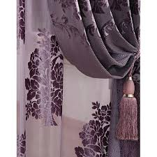 Plum Blackout Curtains Curtains Purple Blackout Ldnmen Com