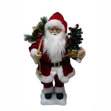animated santa 24 animated santa claus with lighted tree american sale