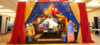 themed photo booth las vegas trade show design custom booths planning