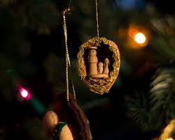 ornament carved from a walnut shell photo lowthian photos
