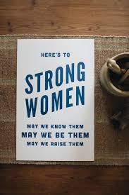 letter press letterpress here s to strong women the bee the fox