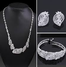fine jewelry necklace images 2018 luxury necklace set fine jewelry set earring bracelet jpg