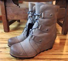 s sorel joan of arctic boots size 9 sorel womens joan of arctic wedge mid boots 1689881 fog size