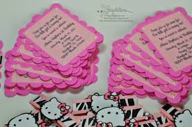 jingvitations hello kitty animal print baby shower invitations