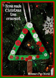 momma u0027s fun world popscile stick christmas tree ornament frame