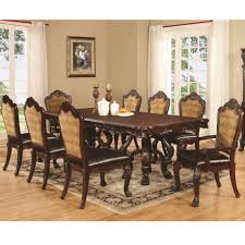 9 pc benbrook dining table and chair set coaster 105511 105512 105513 9 pc benbrook dining table and chair set coaster 105511 105512 105513 main image