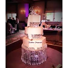 diy crystal chandelier cake stand swarovski and rhinestone crystal