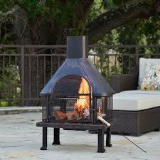 Sale Chiminea Patio Chiminea Heater Outdoor Deck Backyard Steel Fireplace Garden