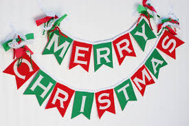 merry christmas sign christmas banner in and green merry christmas banner merry