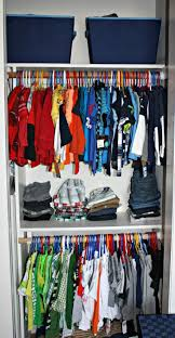 messy closet toddler closet organization boys bedroom ideas small wardrobe