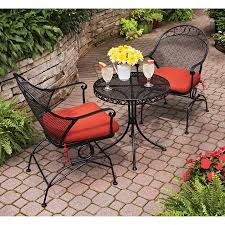 Better Homes And Gardens Outdoor Furniture Cushions by 200 3 Piece Set Plus Red Cushions Walmart Better Homes And