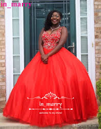 black girls ball gown 2k17 prom dresses 2017 pearls plus size