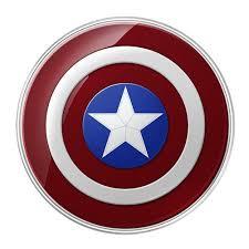Padi Flag Samsung Kablosuz Wireless şarj Captain America Ep Pg920i