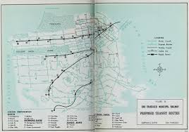 Muni Route Map by Transit Maps