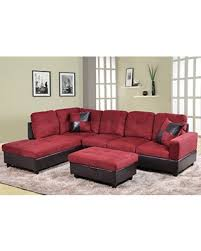 Free Sectional Sofa by Here U0027s A Great Deal On Lifestyle 3 Piece Microfiber And Faux