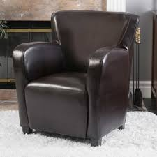 Wingback Armchair Perth Leather Chairs You U0027ll Love Wayfair