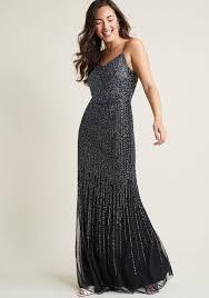 adrianna papell just glamorous maxi dress modcloth