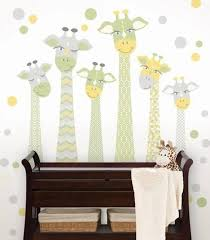 Giraffe Wall Decals For Nursery Nursery Giraffe Wall Kit Wall Decal Allposters Ca