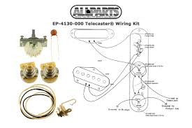 wiring kit for telecaster allparts com