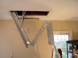 sliding attic stairs dez home