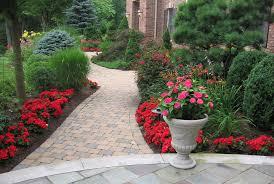 Walkway Garden Ideas Landscaping Ideas By Nj Custom Pool Backyard Design Expert