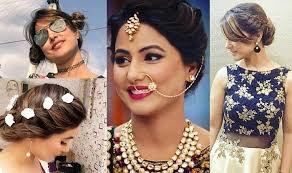 akshara wedding hairstyle yeh rishta kya kehlata hai actress hina khan is giving her fans