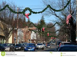 christmas in small town usa stock photo image 1613662