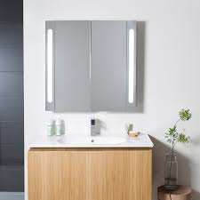 electric mirrored cabinet 800 in mirrored cabinets luxury